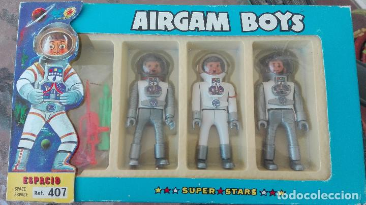 ANTIGUO AIRGAMBOYS AIRGAM BOYS ESPACIO SUPER STARS 407 (Juguetes - Figuras de Acción - Airgam Boys)