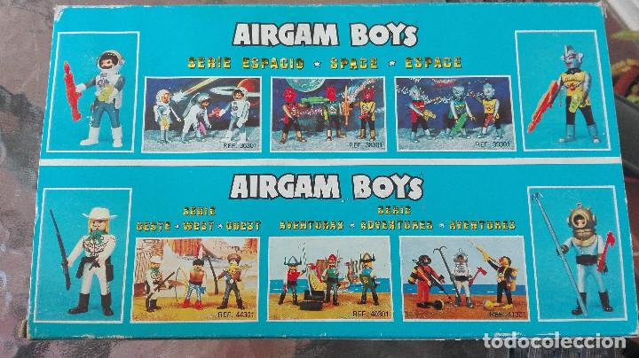 Airgam Boys: ANTIGUO AIRGAMBOYS AIRGAM BOYS ESPACIO SUPER STARS 407 - Foto 2 - 118478599