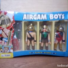 Airgam Boys: AIRGAM BOYS REF.75301 DOS GLADIADORES Y SOLDADO ROMANO,NUEVO Y PRECINTADO. Lote 121235139