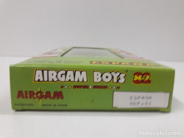 Airgam Boys: AIRGAM BOYS FUTBOLISTA . SELECCION ESPAÑOLA . AIRGAM REF 01 AÑO 1982 . COMPLETAMENTE ORIGINAL - Foto 3 - 122119127