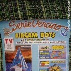 Airgam Boys: AIRGAM BOYS. PUBLICIDAD RARA. SIN DOBLAR.. Lote 122286324