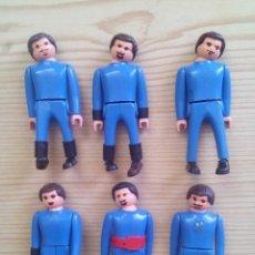 Airgam Boys: 7 AIRGAM BOYS MOSQUETEROS AZULES. Lote 123387587