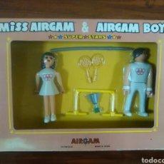 Airgam Boys: AIRGAM BOYS - MISS AIRGAM - CAJA - OLIMPICOS - SUPER STARS - REF 35211 - 1979 ¡NUEVO A ESTRENAR!. Lote 27089416
