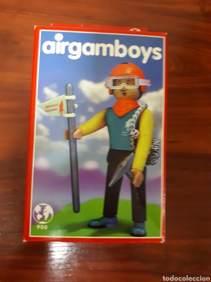 AIRGAMBOYS - AIRGAM BOYS - ESCALADOR - REFERENCIA 900 - NUEVO (Juguetes - Figuras de Acción - Airgam Boys)