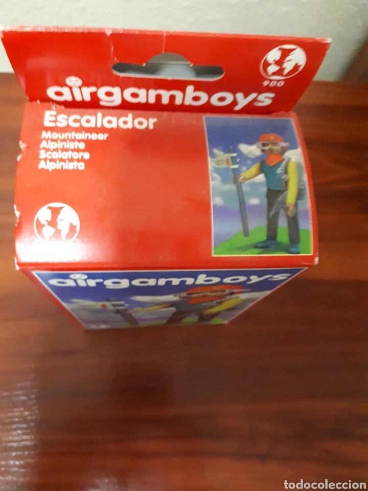 Airgam Boys: AIRGAMBOYS - AIRGAM BOYS - ESCALADOR - REFERENCIA 900 - NUEVO - Foto 3 - 78268121