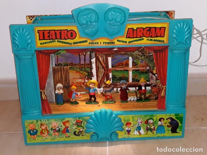 Airgam Boys: AIRGAM - AIRGAMBOYS : ANTIGUO TEATRO AIRGAM ( GRANDE ) CON LUZ FUNCIONANDO , COMPLETO AÑO 1969 - Foto 2 - 132986618