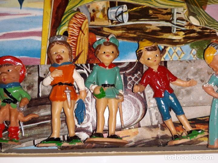 Airgam Boys: AIRGAM AIRGAMBOYS : ANTIGUA CAJA FIGURAS TEATRO AIRGAM - OBRA EL GATO CON BOTAS REF. 908 - AÑO 1969 - Foto 4 - 133038510