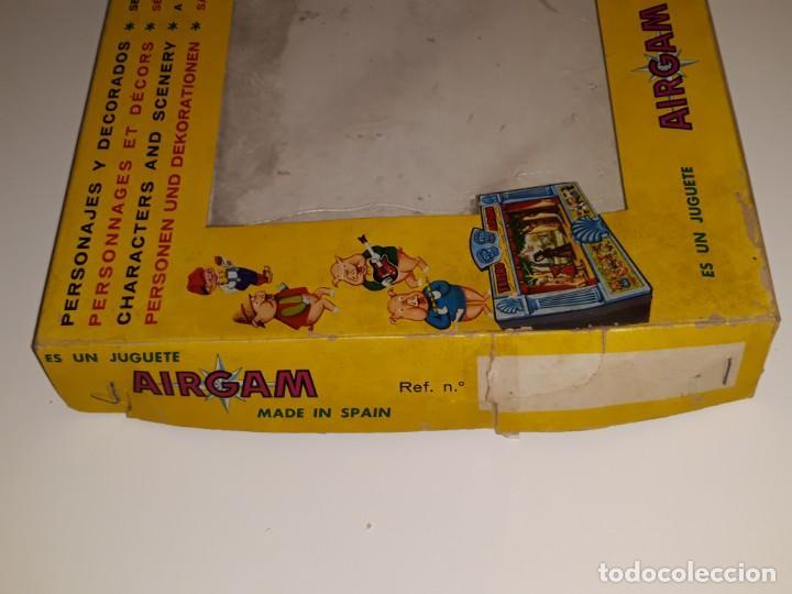 Airgam Boys: AIRGAM AIRGAMBOYS : ANTIGUA CAJA FIGURAS TEATRO AIRGAM - OBRA EL GATO CON BOTAS REF. 908 - AÑO 1969 - Foto 7 - 133038510