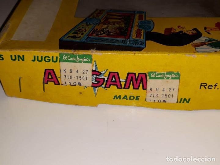 Airgam Boys: AIRGAM AIRGAMBOYS : ANTIGUA CAJA FIGURAS TEATRO AIRGAM - OBRA EL GATO CON BOTAS REF. 908 - AÑO 1969 - Foto 13 - 133038510