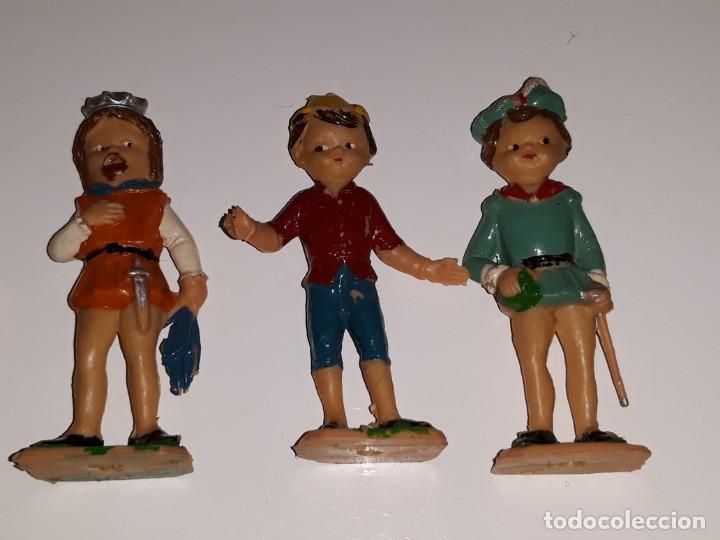 Airgam Boys: AIRGAM AIRGAMBOYS : ANTIGUA CAJA FIGURAS TEATRO AIRGAM - OBRA EL GATO CON BOTAS REF. 908 - AÑO 1969 - Foto 21 - 133038510