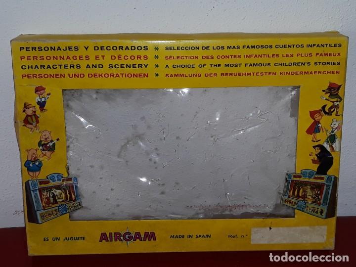 Airgam Boys: AIRGAM AIRGAMBOYS : ANTIGUA CAJA FIGURAS TEATRO AIRGAM - OBRA EL GATO CON BOTAS REF. 908 - AÑO 1969 - Foto 32 - 133038510