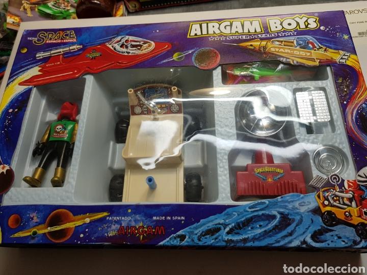 AIRGAM BOYS ESPACIO REF.00284 VEHÍCULO SIDERAL+PLANETA ROJO EN SU BLISTER (Juguetes - Figuras de Acción - Airgam Boys)