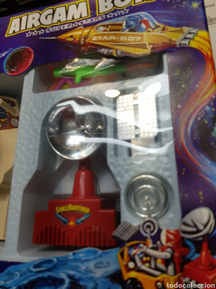 Airgam Boys: Airgam Boys Espacio Ref.00284 vehículo sideral+planeta rojo en su blister - Foto 6 - 133151183