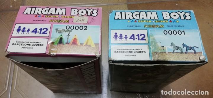 Airgam Boys: LOTE DE 2 CAJAS AIRGAMBOYS TIENDAS INDIAS. REF. 00002. CON SU TOTEM, UNA DE ELLAS EN SU CAJA CORRESP - Foto 6 - 133288358