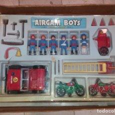 Airgam Boys: CAJA AIRGAM BOYS BOMBEROS SUPER STAR AÑOS 70. Lote 133381370