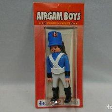 Airgam Boys: ANTIGUO AIRGAM BOYS AIRGAMBOYS SOLDADO FRANCÉS EN BLISTER REFERENCIA 18100 - NUEVO - MADE IN SPAIN . Lote 134164026