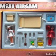 Airgam Boys: MISS AIRGAM SUPER STARS REF 55202 CLINICA. DOS FIGURAS Y ACCESORIOS AÑOS 70. Lote 138973270