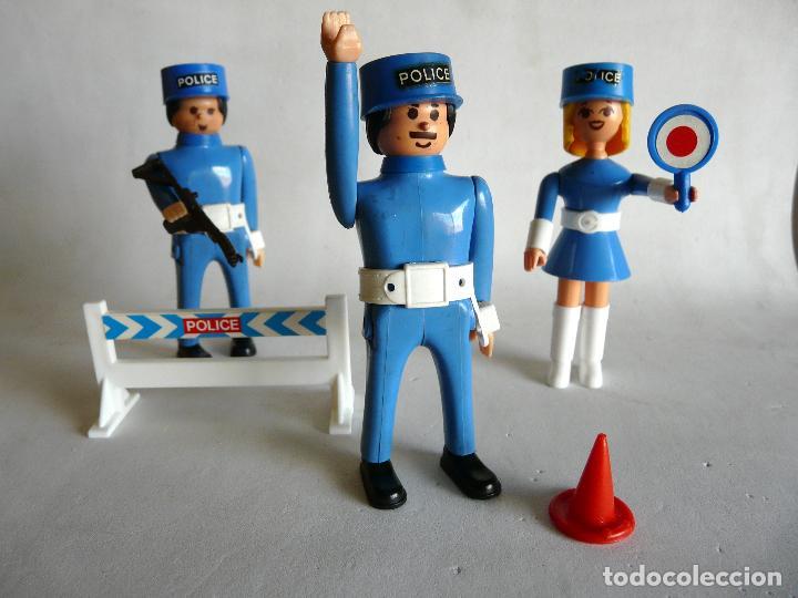 AIRGAM BOYS - POLICIAS - GENDARMES -MISS AIRGAM -AIRGAMBOYS - CONTROL POLICIAL (Juguetes - Figuras de Acción - Airgam Boys)