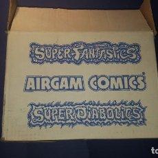Airgam Boys: AIRGAM BOYS CAJA VACIA SUPERFANTASTICS. Lote 142909126