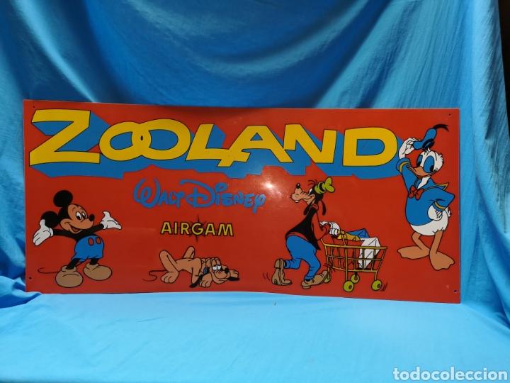 Airgam Boys: Antiguo cartel zooland Walt Disney airgam. Ideal coleccionistas - Difícil - Foto 2 - 142928949