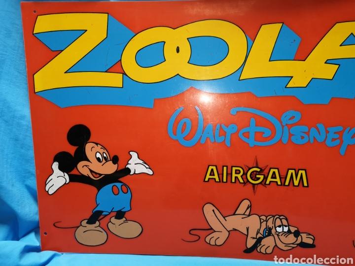 Airgam Boys: Antiguo cartel zooland Walt Disney airgam. Ideal coleccionistas - Difícil - Foto 3 - 142928949