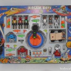 Airgam Boys: CAJA AIRGAMBOYS, SERIE SPACE ESPACIO, REF. 37604, PLANETA ROJO, 6 FIGURAS, COMPLETA, AIRGAM BOYS. Lote 143741634