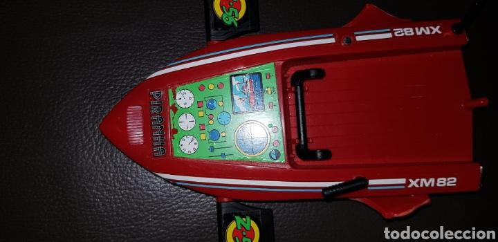 Airgam Boys: Vehiculo Nave Sub-Aquatic PIRANHA de los Superfantastics Airgam Boys Superdiabolics años 80 - Foto 3 - 144600041