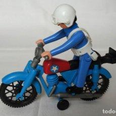 Airgam Boys: POLICÍA CON MOTO AIRGAMBOYS. Lote 148970474