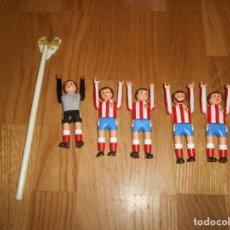 Airgam Boys: AIRGAM BOYS AIRGAMBOYS SERIE FUTBOL ATLÉTICO DE MADRID 5 JUGADORES 1982 MUY RARO. Lote 149401214