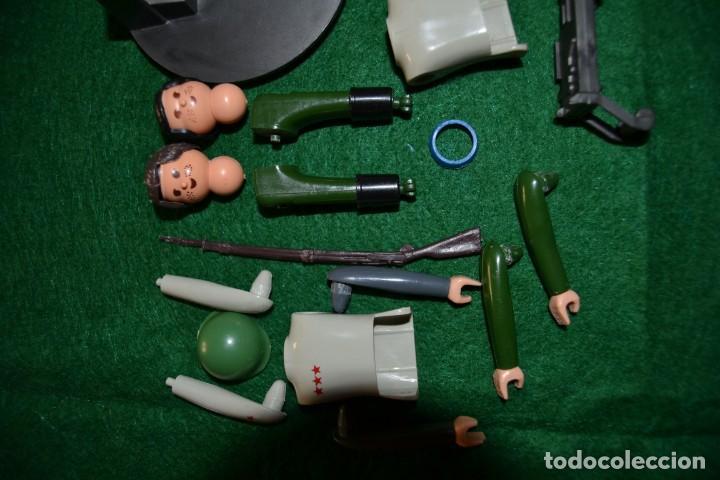 Airgam Boys: Lote Airgam Boys. Airgamboys. SÓLO para recuperar piezas o restaurar. Soldados. Ametralladora Jeep. - Foto 2 - 150980842