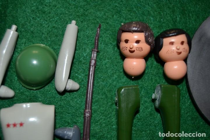 Airgam Boys: Lote Airgam Boys. Airgamboys. SÓLO para recuperar piezas o restaurar. Soldados. Ametralladora Jeep. - Foto 3 - 150980842