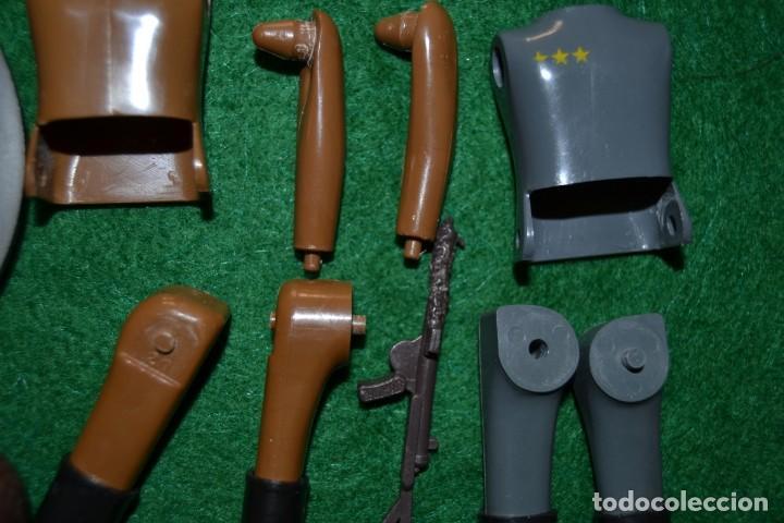 Airgam Boys: Lote Airgam Boys. Airgamboys. SÓLO para recuperar piezas o restaurar. Soldados. Ametralladora Jeep. - Foto 4 - 150980842