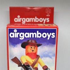 Airgam Boys: FIGURA AIRGAM. AIRGAMBOYS. BUFALO BILL . NUEVO DE REEDICIÓN. MADE IN SPAIN.. Lote 151542378