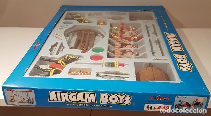 Airgam Boys: MEGA CAJA VINTAGE AIRGAM BOYS ROMANOS Y GLADIADORES AIRGAMBOYS - Foto 13 - 114104943