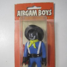 Airgam Boys: AIRGAM BOYS SOLDADO MULATO SEPTIMO CABALLERIA BLISTER SIN ABRIR REFERENCIA 03100 ORIGINAL AÑOS 70. Lote 154552769