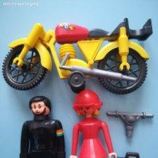 Airgam Boys: FIGURAS AIRGAM - MOTO Y PILOTOS MOTORISTAS. Lote 156162046