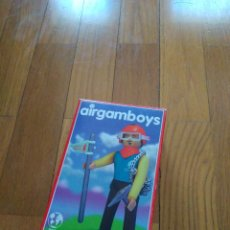 Airgam Boys: ANTIGUO AIRGAMBOYS EN CAJA ORIGINAL Y DENTRO BOLSA SIN DESPRECINTAR ESCALADOR. Lote 156491454