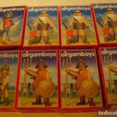 Airgam Boys: LOTE DE 8 AIRGAMBOYS SERIE ROMANOS NUEVOS EN CAJA NEW TOYS. Lote 167604148