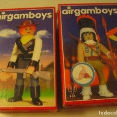 Airgam Boys: LOTE DE 2 AIRGAMBOYS SERIE OESTE NUEVOS EN CAJA NEW TOYS. Lote 167607976