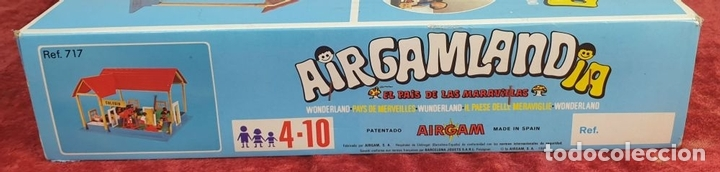 Airgam Boys: AIRGAMLANDIA. JUGUETES AIRGAM. ESCUELA. REF: 717. ESPAÑA. CIRCA 1970. - Foto 2 - 168168452