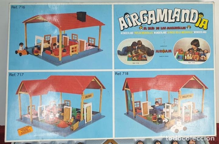 Airgam Boys: AIRGAMLANDIA. JUGUETES AIRGAM. ESCUELA. REF: 717. ESPAÑA. CIRCA 1970. - Foto 5 - 168168452