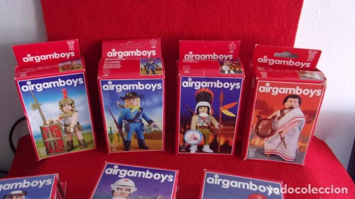 Airgam Boys: lote 8 airgam boys,nuevos,diferentes,cajas y bolsa precintadas - Foto 2 - 168691580
