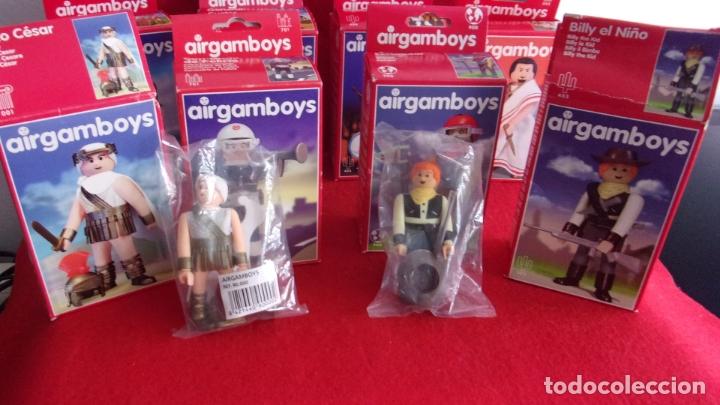 Airgam Boys: lote 8 airgam boys,nuevos,diferentes,cajas y bolsa precintadas - Foto 3 - 168691580