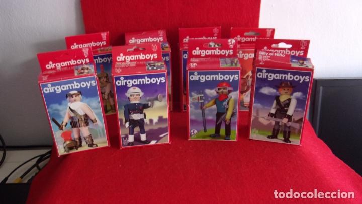 Airgam Boys: lote 8 airgam boys,nuevos,diferentes,cajas y bolsa precintadas - Foto 4 - 168691580