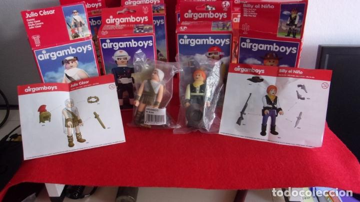 Airgam Boys: lote 8 airgam boys,nuevos,diferentes,cajas y bolsa precintadas - Foto 5 - 168691580