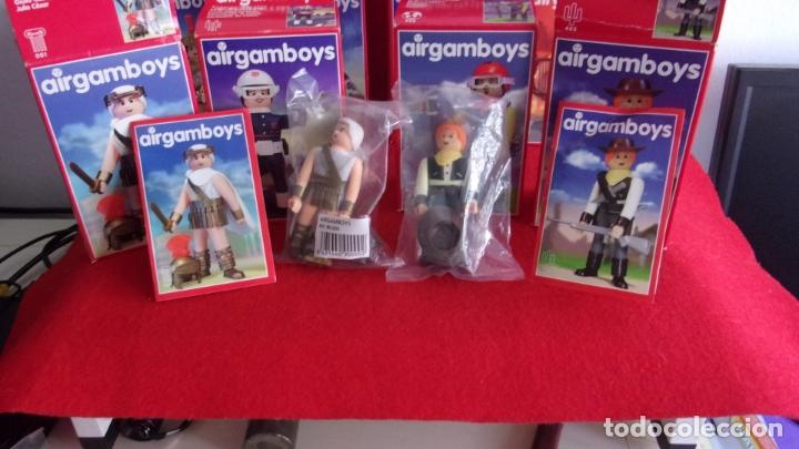 Airgam Boys: lote 8 airgam boys,nuevos,diferentes,cajas y bolsa precintadas - Foto 6 - 168691580