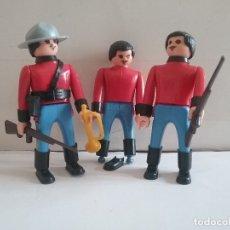 Airgam Boys: AIRGAMBOYS AIRGAM BOYS ORIGINALES AÑOS 70. LOTE DE POLICIA MONTADA DEL CANADÁ SERIE OESTE.PTOY. Lote 135940423
