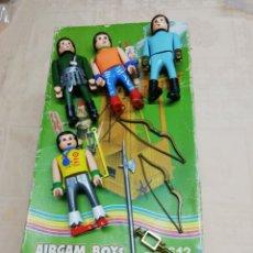 Airgam Boys: AIRGAM BOYS Y CAJA. Lote 169155144