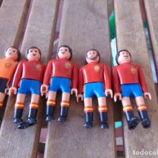 Airgam Boys: LOTE DE 5 JUGADORES DE LA SELECCION DE ESPAÑA DE FUTBOL AIRGAM BOYS. Lote 170657810