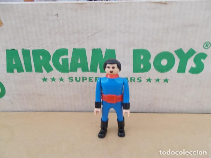 AIRGAMBOYS AIRGAM ORIGINAL AÑOS 70 BOMBERO 1 EN BUEN ESTADO NO REEDICIÓN. PTOY (Juguetes - Figuras de Acción - Airgam Boys)
